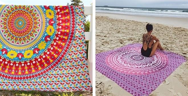 HOT!! Mandala Pattern Beach Th...