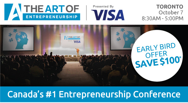 The Art of Entrepreneurship Toronto - Special Offer