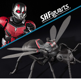 S.H.FIGUARTS ANT-MAN & THE WASP