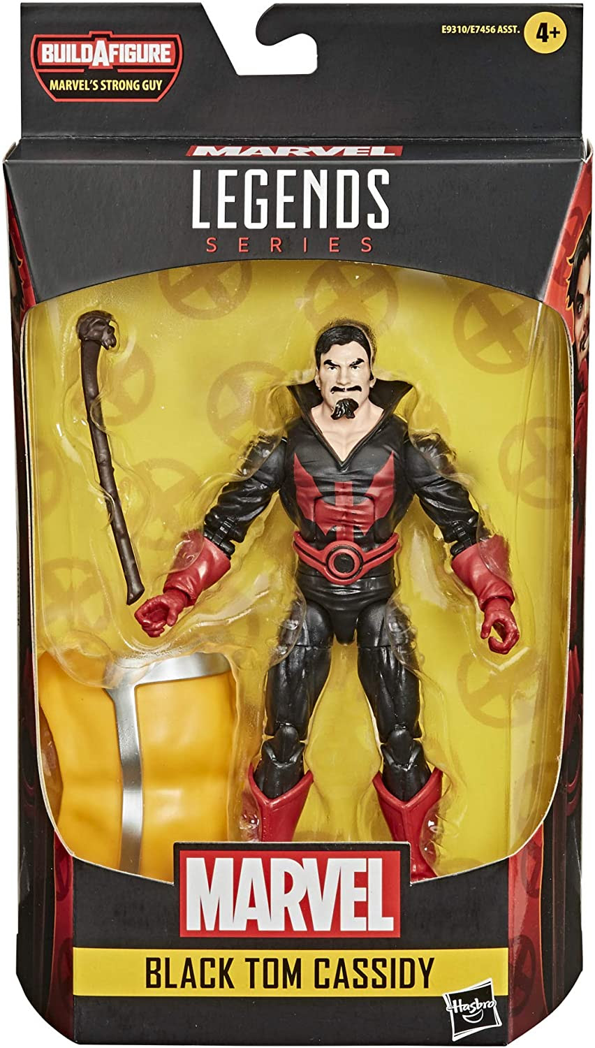 Image of Hasbro Marvel Legends Series Deadpool Collection 6-inch Black Tom Cassidy Action Figure Toy Premium Design and 1 Accessory