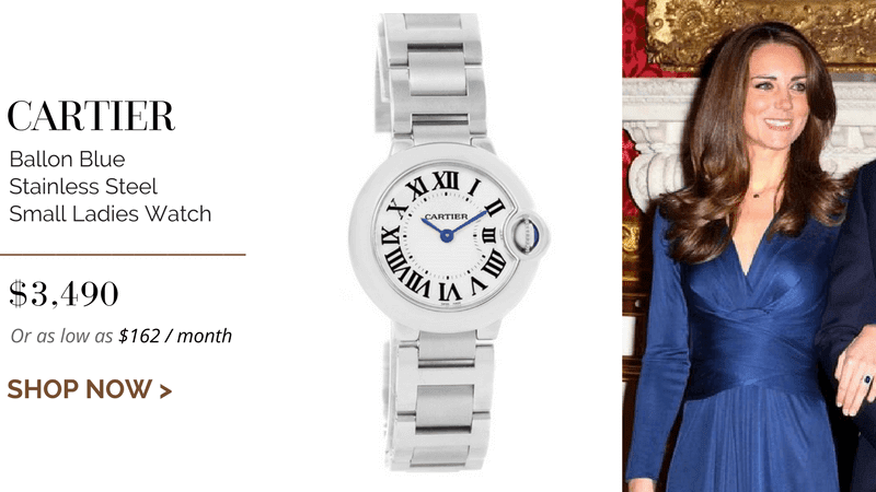 Cartier Ballon Blue Stainless Steel Small Ladies Watch