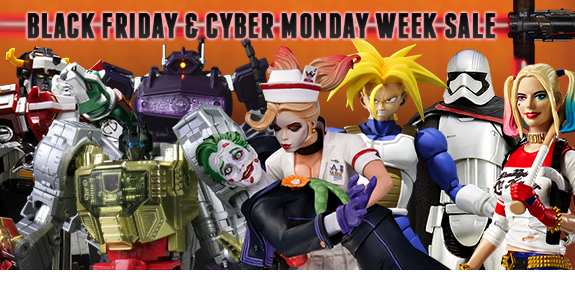 BLACK FRIDAY AND CYBER MONDAY WEEK SALE