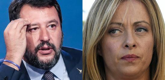 SUPERMEDIAAGI/YOUTREND, LA LEGA SCENDE SOTTO IL 22%, FDICRESCE ANCORA E TALLONA IL PD