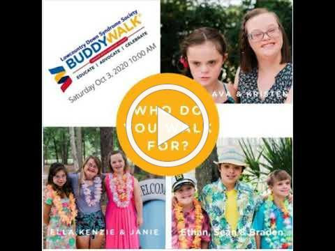 LDSS Lowcountry Down Sydrome Society Virtual Buddy Walk