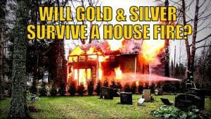 Storing Precious Metals: Will Gold & Silver Survive a House Fire?