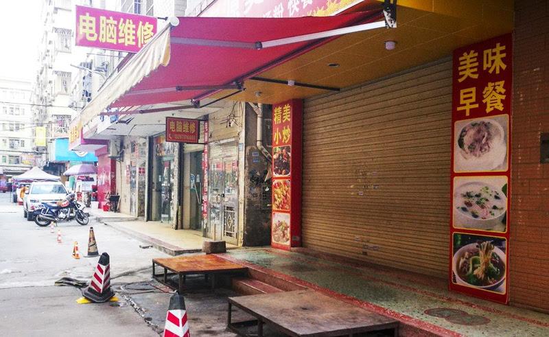 Ít nhất 60% cơ sở kinh doanh quanh khu tổ hợp Jinxinda đã đóng cửa sau khi Samsung rời đi.