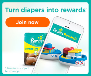 Join Pampers Rewards program -...