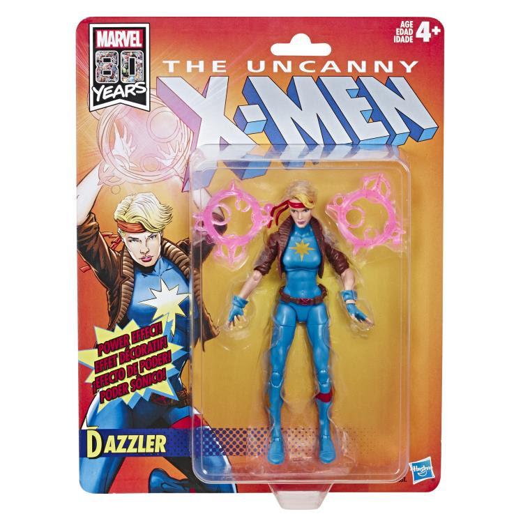 Image of X-Men Retro Marvel Legends 6-Inch Action Figures - Dazzler