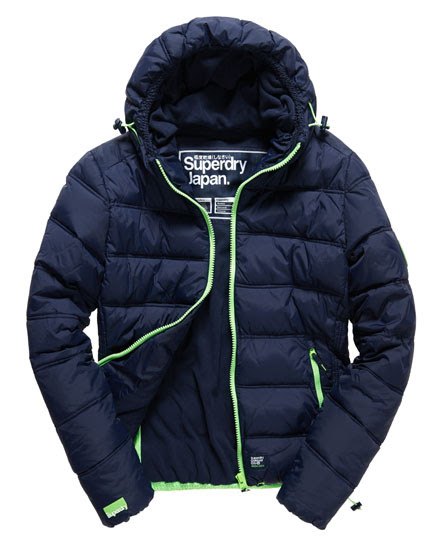 Puffer Coat Warm and Waterproof - Superdry