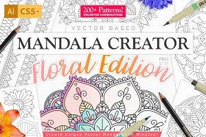 Mandala Creator - Floral Edition