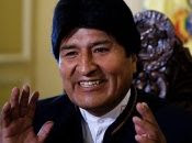 Bolivian President Evo Morales is shown to be ahead in polls according to a new study.