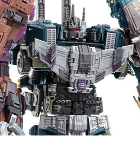 Warbotron WB01 Combiner Set of 5 Figures