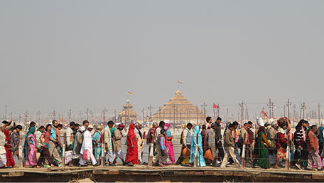 Preparedness for Millions at a mass festival in India