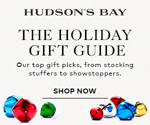 (11/7-12/23) The Holiday Gift Guide at TheBay.com