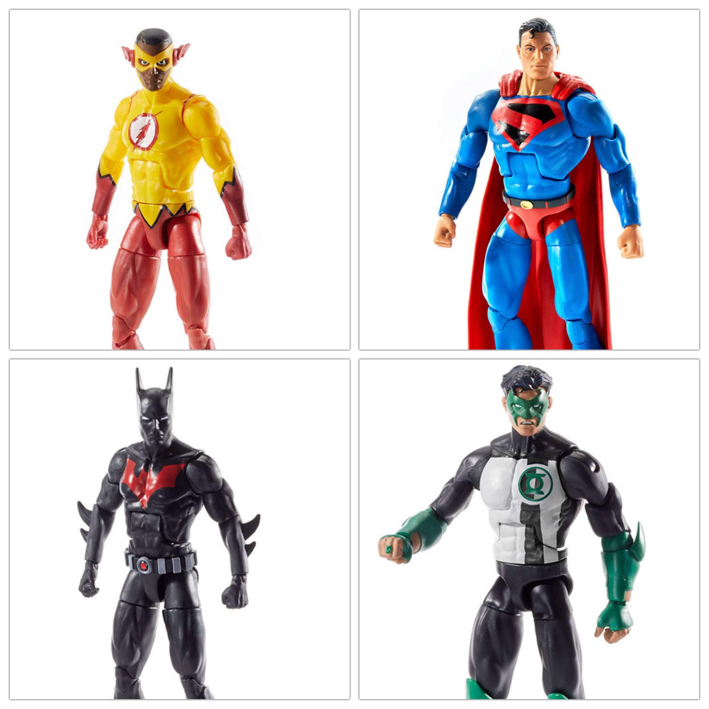 Image of DC Comics Multiverse Wave 10 Set of 4 Figures (Collect & Connect Lobo) - BACKORDERED APRIL 2019
