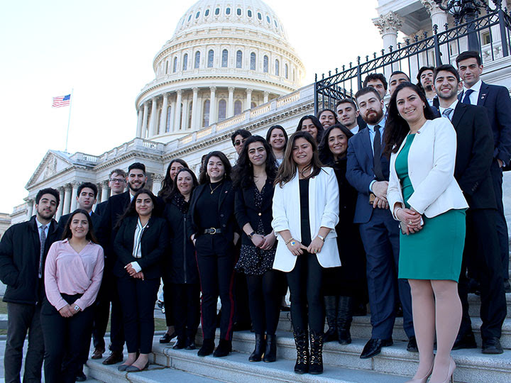ANCA Rising Leaders on Capitol Hill