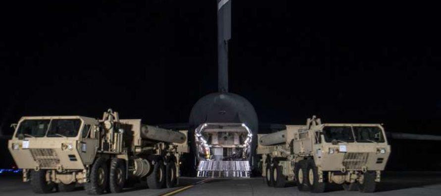 Mỹ tiếp tục triển khai hệ thống phòng thủ hoả tiễn THAAD tại Nam Hàn