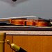 The Stradivarius violin that was taken from the Milwaukee Symphony Orchestra's concertmaster in an armed robbery was displayed for the media after it was recovered, in Milwaukee, Wis., on Thursday.