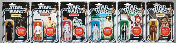 STAR WARS RETRO COLLECTION WAVE 1