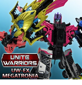 UNITE WARRIORS UW-EX MEGATRONIA
