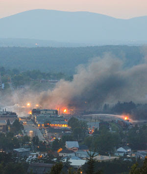 Lac Megantic Rail Disaster