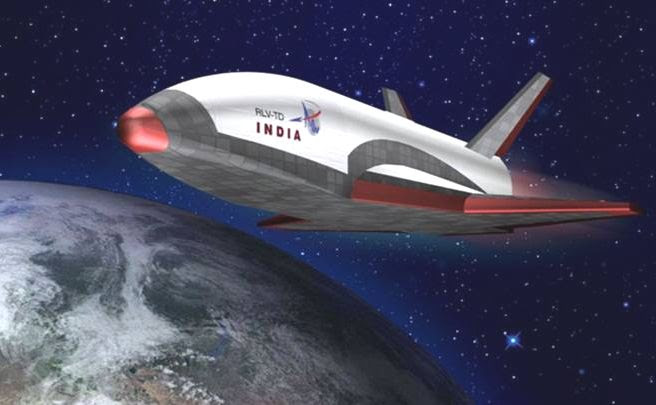First Mini Space Shuttle