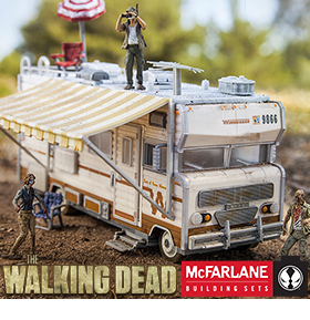 THE WALKING DEAD CONSTRUCTION SETS