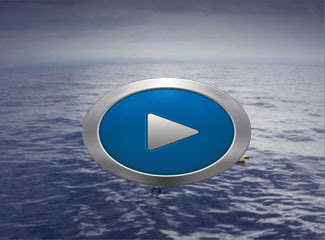 "A video shows hot the Liquid Robotics ""Wave Glider"" works."