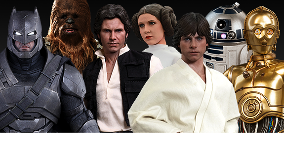 HOT TOYS AND SIDESHOW NEW ARRIVALS