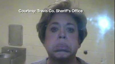 VIDEOS: Belligerent Drunk Democrat Rosemary Lehmberg in Charge of 'Integrity Unit' Indicts Rick Perry Over a Lawful Veto