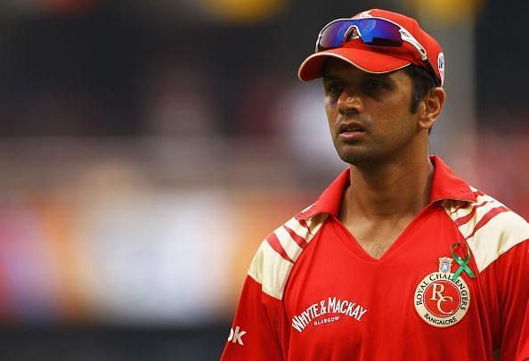 Rahul Dravid played the first 3 editions of IPL for his home side, RCB.