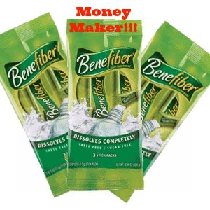 Benefiber Sticks 3pk Money Maker on Benefiber Sticks at Walmart!