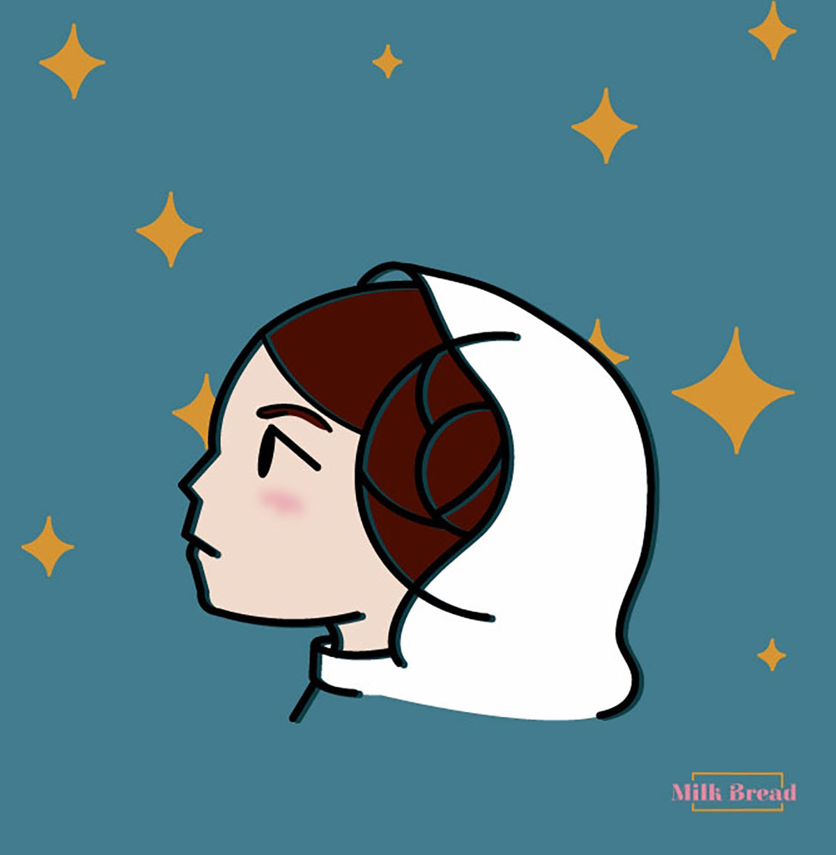 princess leia illustration