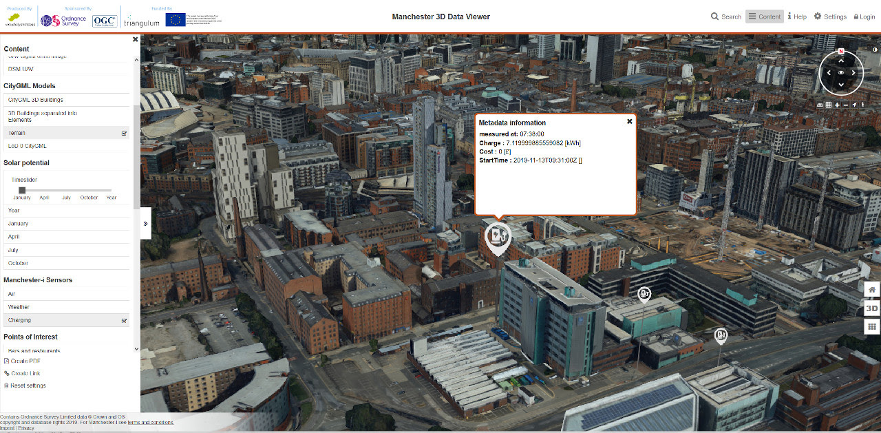 The Manchester 3D Data Viewer was developed by virtualcitySYSTEMS as the winning entry to the 2019 CityGML Challenge.