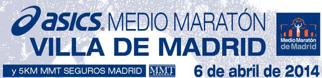 ASICS Medio Maratón Villa de Madrid 2014