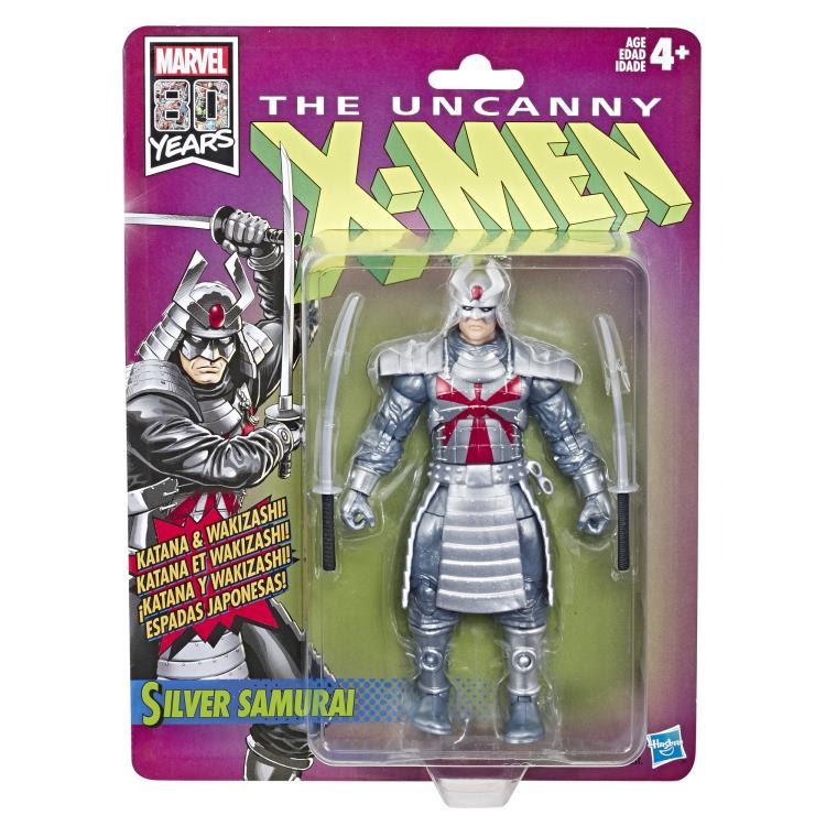 Image of X-Men Retro Marvel Legends 6-Inch Action Figures - Silver Samurai