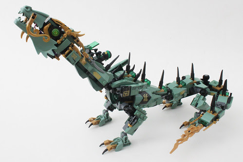 The LEGO Ninjago Movie Green Ninja Mech Dragon (70612)