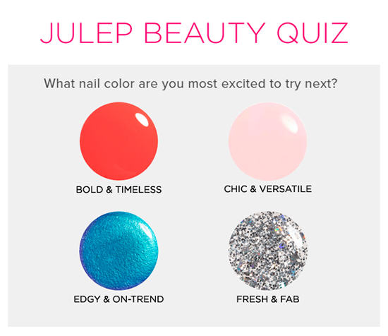 FREE Personalized Julep Beauty...