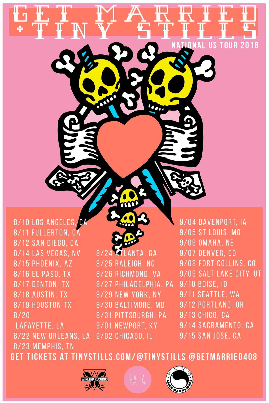 get married tiny stills tour poster
