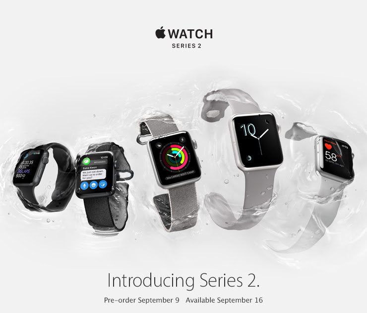 Apple Introduces Apple Watch Series 2, The Ultimate Device For A Healthy Life
