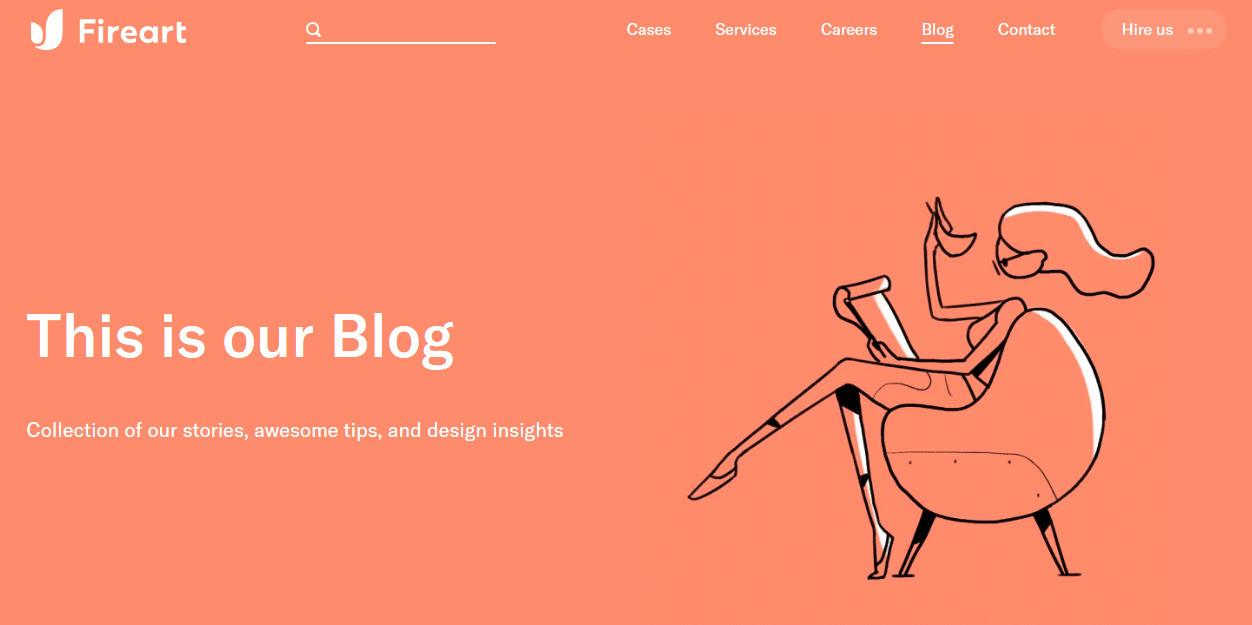 Веб-дизайн тренд 2020: тематичные анимированные иллюстрации