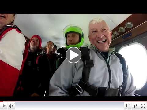 Skydiving - a bucket list item.