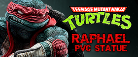 TMNT RAPHAEL PVC STATUE