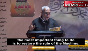 "Muslim leader: Establishing an Islamic state ""requires the conquest of America, Britain, Russia, France, and Italy"""