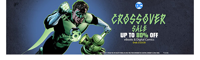 DC Crossover Event Book Sale: up to 80% off! | Ends 3/23