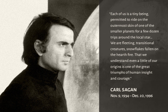 Carl Sagan (Nov. 9 1934 - Dec. 20, 1996)