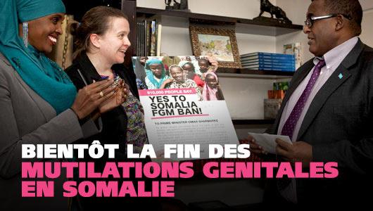 La Somalie dit non aux mutilations féminines