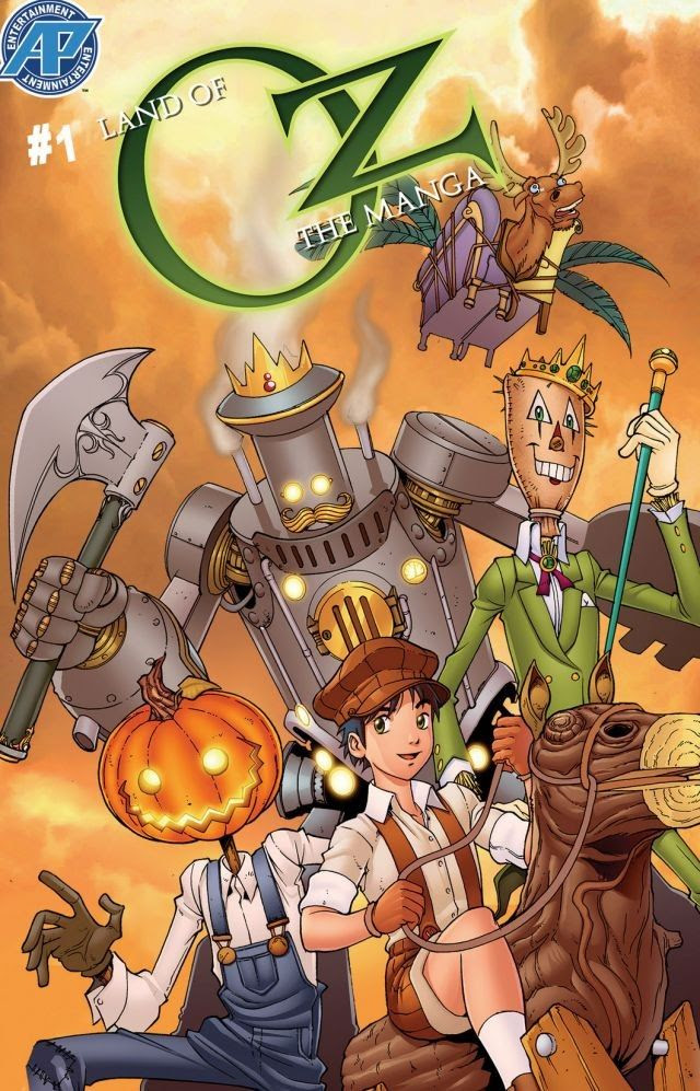 The Land of Oz:  The Manga