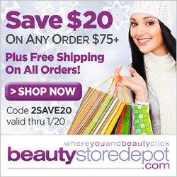 $20 Off over $75 + Free Shipping, code 2SAVE20