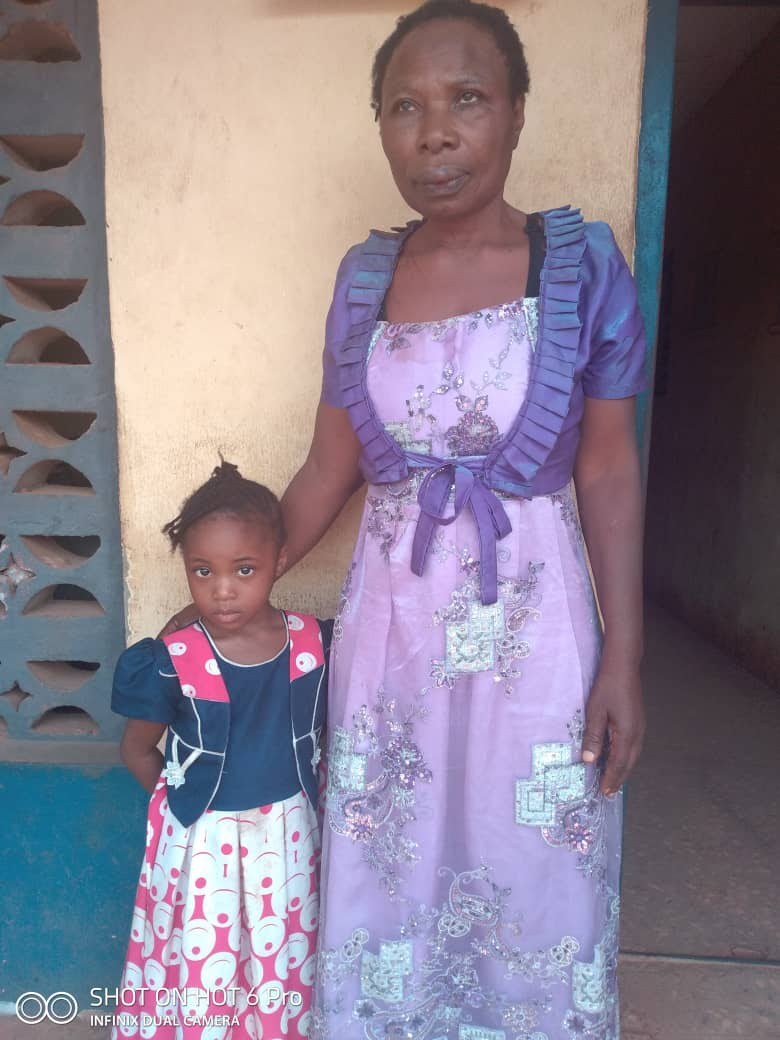 The woman and the stolen child
